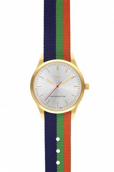 Brushed Silver Face with Kings Cross NATO Watch Band #jdrt #silver #watches #NATO