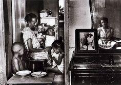"""""""Ella Watson and her Grandchildren,"""" by Gordon Parks, 1942"""