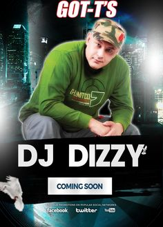 Great News, DJ Dizzy, one of the BEST SA DJ's ever, will come to GOT-T'S soon. Keep an eye on our Social Media for more information. Club Dance Music, Social Networks, Social Media, Slush Puppy, Edm, Youtube, Youtubers, Social Media Tips, Youtube Movies