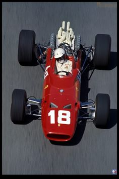1967 Lorenzo Bandini, Scuderia Ferrari, Ferrari 312 Ferrari Engine - Monaco Grand Prix May 7, 1967 - Fatal Accident