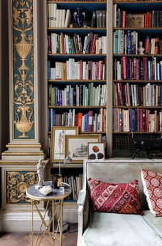 The library alone in this Saint Germain-des-Prés apartment on Rue de Varennes III would seal the deal if I were looking for a vacation rental in Paris, but then as you continue to tour the home, each room continues to impress. Available to rent for your next trip to Paris through OneFineStay, from the sitting …
