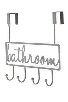 Bathroom Over Door Hooks Home Design