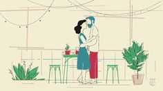 'A Kiss, Deferred' is our contribution to the New York Times' Modern Love column, based on a true story written by Nikolina Kulidžan.