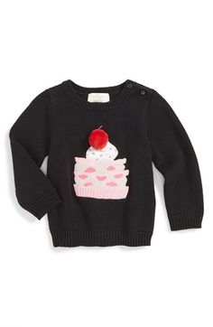 kate spade new york 'pastry' sweater (Baby Girls) available at #Nordstrom