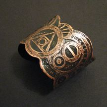 copper cuff  Alchemy design  by Jamie spinello