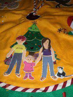 Pie árbol de navidad