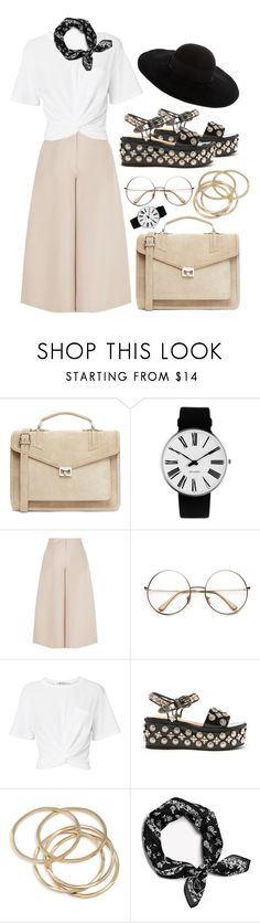 """""""Indiana Jones-ing"""" by tag-noheuer ❤ liked on Polyvore featuring J.Lindeberg, Rosendahl, Valentino, T By Alexander Wang, Toga, ABS by Allen Schwartz, rag & bone and Eugenia Kim"""