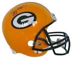 Desmond Howard Signed Green Bay Packers Full Size Replica Helmet JSA 0b1ab410f