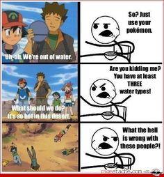 Vielleicht kann man das Wasser der Pokemon gar nicht trinken? #MavisChan