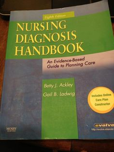 A nursing student's Bible for care plans!!