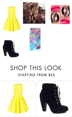 """""""Sem título #42"""" by dudinha06 on Polyvore featuring moda, AQ/AQ, Bamboo e Casetify"""