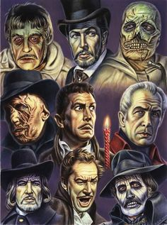Vincent Price is Right by MonsterbatoryWorld on Etsy, $60.00