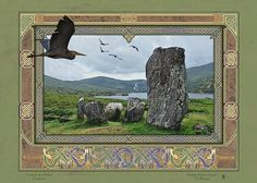URAGH STONE CIRCLE > Irish Sites: by Jeff Fitzpatrick Adams @ Irish Celtic Illuminations > http://www.irishcelticilluminations.com/ > http://www.facebook.com/IrishCelticIlluminations