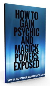How To Gain Psychic And Magick Powers Exposed eBook PDF - Roddys Review - http://roddysreview.com/how-to-gain-psychic-and-magick-powers-exposed-review/  - Magic, Spirituality, New Age & Alternative Beliefs