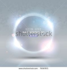 Vector Glass Glossy Sphere. Abstract Background by andkuch, via Shutterstock