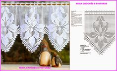 miria croches e pinturas bandos Crochet Home Decor, Crochet Crafts, Crochet Yarn, Yarn Crafts, Knitting Yarn, Crochet Stitches, Knitting Patterns, Crochet Patterns, Filet Crochet