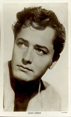 This is the John Derek I remembered from films when I was growing up. He had a rough and troubled childhood, I was told. Jock Mahoney and his wife took him under their wing, and gave him a home when John was just starting out in the films. (Esther Luttrell)