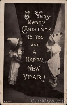 A Very Merry Christmas to you and a happy new year
