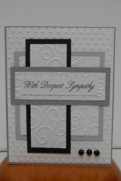 ShrinkingMimsys PaperCrafts: Sympathy card inspired by Shirley