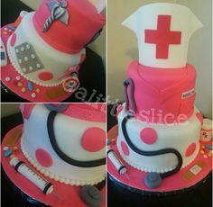 Nurse cake ... go follow @ alittleslice on instagram.
