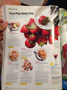 Flat belly diet