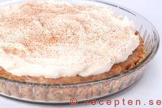 Fyllning: 400 g rabarber ca Fika, Pie Dessert, Christmas Desserts, No Bake Cake, Vanilla Cake, Tiramisu, Food And Drink, Ethnic Recipes, Sweet Stuff