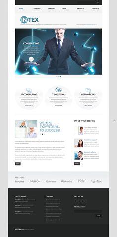 IT Technology WordPress Theme
