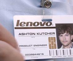 Ashton Kutcher is now a Lenovo productengineer
