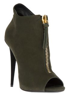 Giuseppe Zanotti Design - peep toe ankle boot