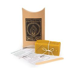 Beeswax Candle Making Kit - a traditional housewarming gift bringing light into the home