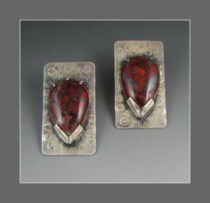 art jewelry unusual materials in bezel - Google Search