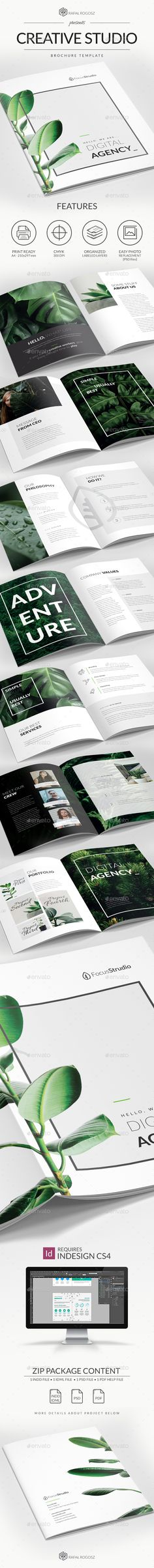 Creative Studio Brochure A4