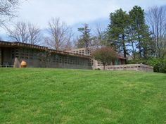 Gerald B. Tonken's Residence. Rear facade