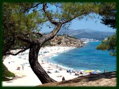Limenaria (on the island of Thassos), Greece...been there