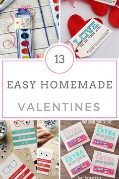 Valentines, Class Valentines, Class Valentines Ideas, Homemade Valentines, Homemade Class Valentines, Inexpensive Valentines, Valentines Day, Kids, Kid Crafts, Easy Kid Crafts, Popular Pin