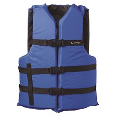 Onyx Outdoor General Purpose Life Jacket is the perfect life vest for the active sportsman. This life jacket offers the perfect combination of style, comfort, and value. Canoe Accessories, Types Of Jackets, Life Jackets, Fit 30, Oxford Fabric, Black Onyx, Vest Jacket, Adulting, Bag Storage