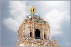 The beautiful dome of Beverly Hills City Hall, by Flickr user vidalia_11.