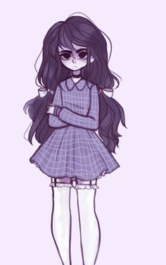 Cute Art Styles, Cartoon Art Styles, Creepy Drawings, Cute Drawings, Pastel Goth Art, Dibujos Cute, Wow Art, Fantastic Art, Pretty Art