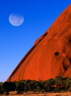 """""""Uluru, Australia"""" -- Gorgeous. I would love to see it in person sometime."""
