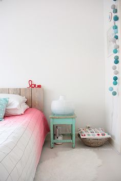 DIY ombre lamp - i like this blog (:
