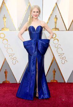 Nicole Kidman in Armani Privé - The Best Dressed On The 2018 Oscars Red Carpet - Photos