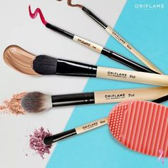 Las brochas ideales by Oriflame Cosmetics ❤MB