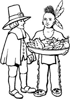 10 Free Thanksgiving Coloring Page Printables - About a Mom