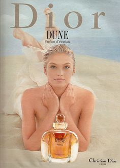 kristina semenovskaya Dune by Dior Parfum Dior, Anuncio Perfume, Dior Dune, Dior Collection, Book Perfume, Christian Dior Makeup, Cosmetic World, Vanilla Perfume, Beauty Ad