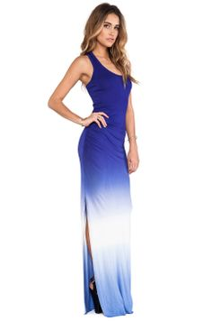 Young, Fabulous & Broke Maelle Maxi in Purple Ombre