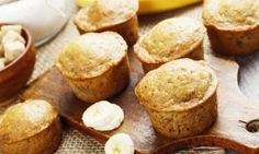 13 Healthy Snacks That Taste Like Treats (with Recipes! Banana Bread Muffins, Muffin Bread, Healthy Dessert Recipes, Healthy Snacks, Best Christmas Recipes, Cake Factory, Cake & Co, Good Food, Favorite Recipes