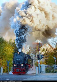 RailPictures.Net Photo: 99 7241-5 Harzer Schmalspurbahnen Steam 2-10-2T at Wernigerode, Germany by Daniel SIMON
