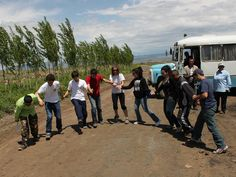 It's not unusal for tourists to break out in dance, due to feeling overwelmed with the emotions of being in Armenia :)