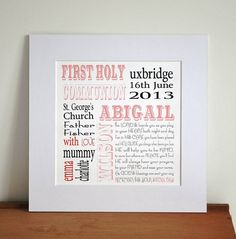 personalized holy communion