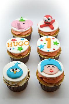 Los cupcakes de Pocoyo